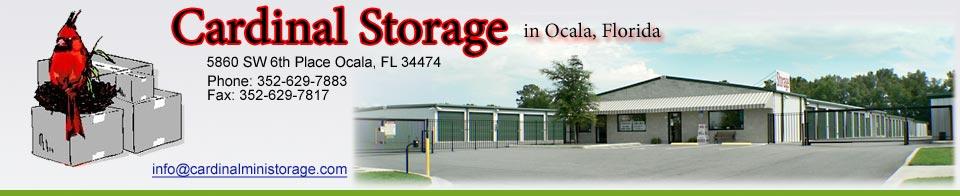 Home  sc 1 th 101 & Cardinal Mini Storage Ocala Mini Storage Unit Marion County Mini ...